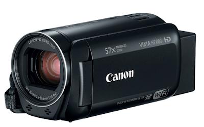 Canon VIXIA HF R80 BLACK 3Q CL
