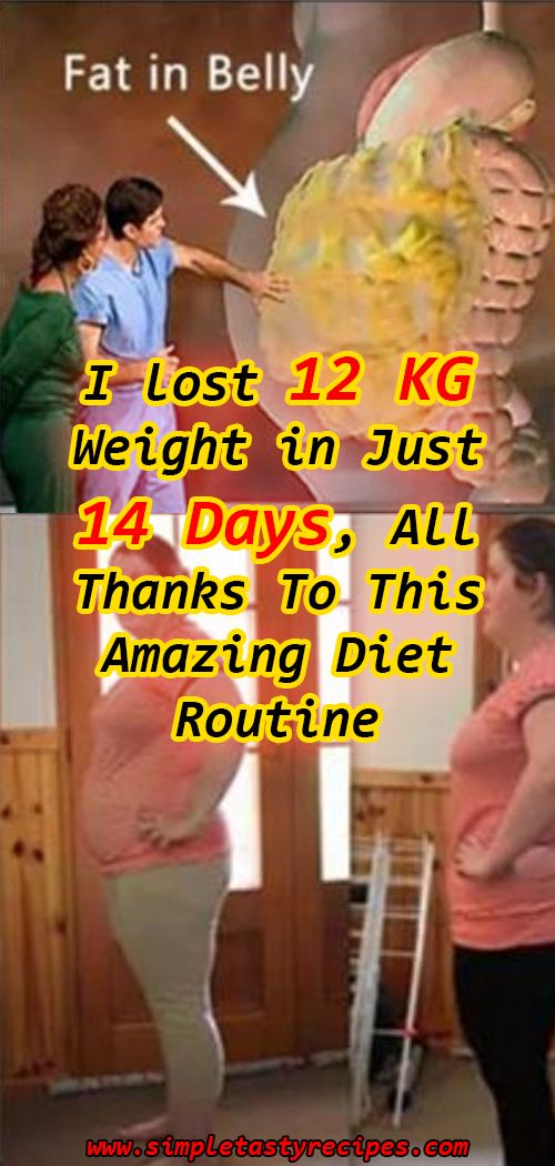 I lost 12 KG Weight In Just 14 Days All Thanks To This