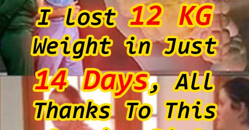 I Lost 12 Kg Weight In Just 14 Days