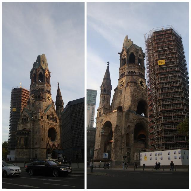 Top 15 coisas para fazer em Berlim - igreja Kaiser Wilhelm Gedächtniskirche
