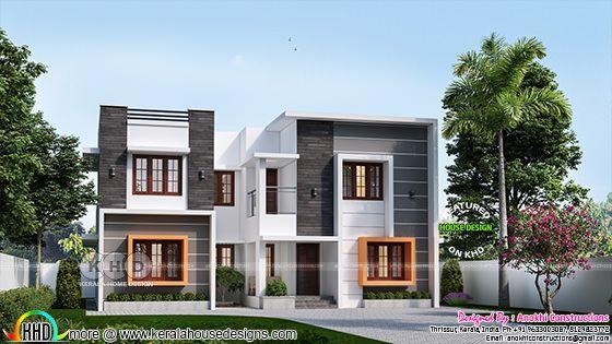 2210 square feet 4 bedroom box model home