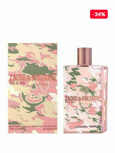 Parfum femei riginal Zadig & Voltaire This Is Her No Rules, 50 ml reducere