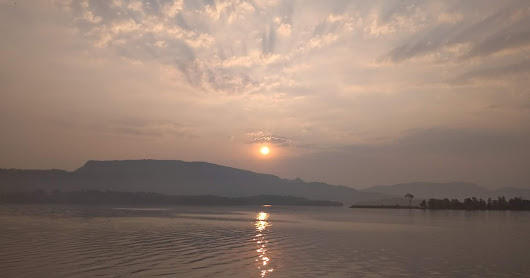 Vandri lake and dam in Maharashtra