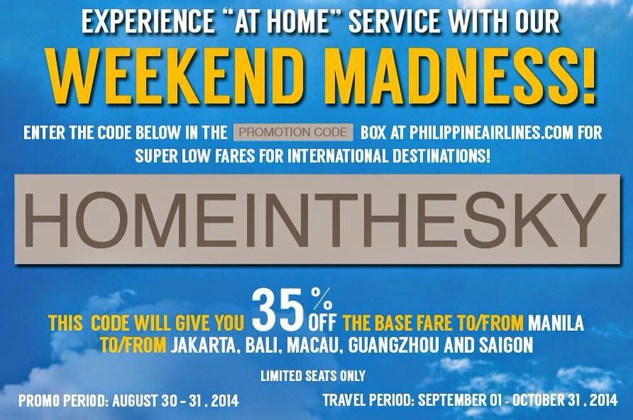 Philippine Airlines Promo 2019 - 2020: August 2014