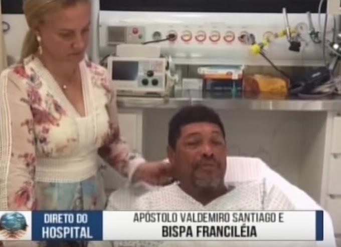Pastor Valdemiro Santiago é atacado a facadas dentro de igreja