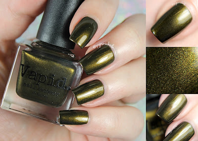 Vapid Nail Lacquer Weaponized Guilt | Fall 2016