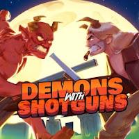 demons with shotguns game logo