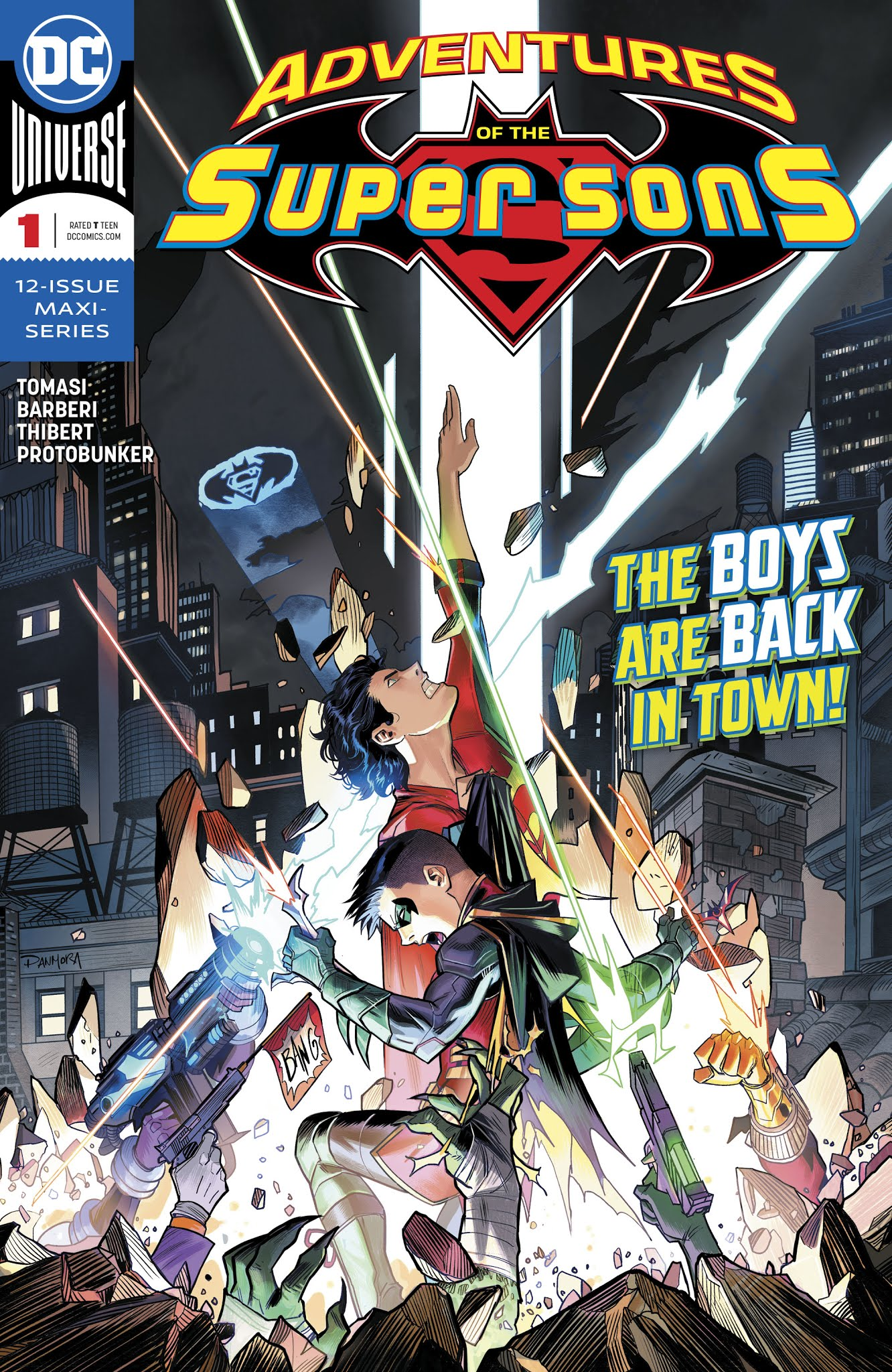 Adventures of the Super Sons 1 Page 1