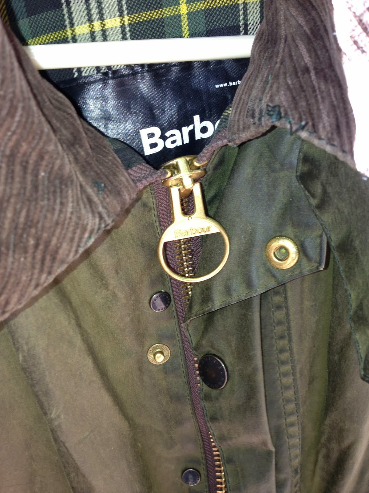 Odysseus Trunk Reproofing The Barbour Beaufort