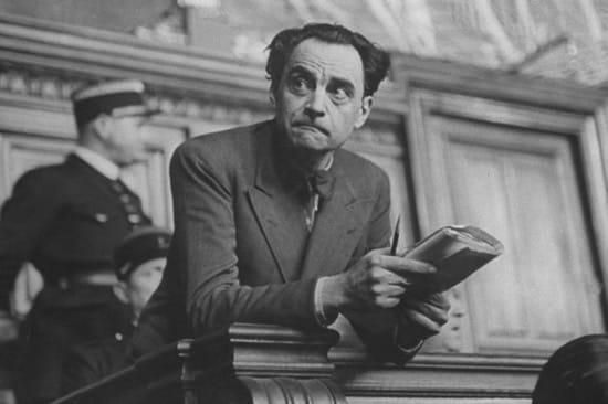 Marcel Petiot durante el juicio