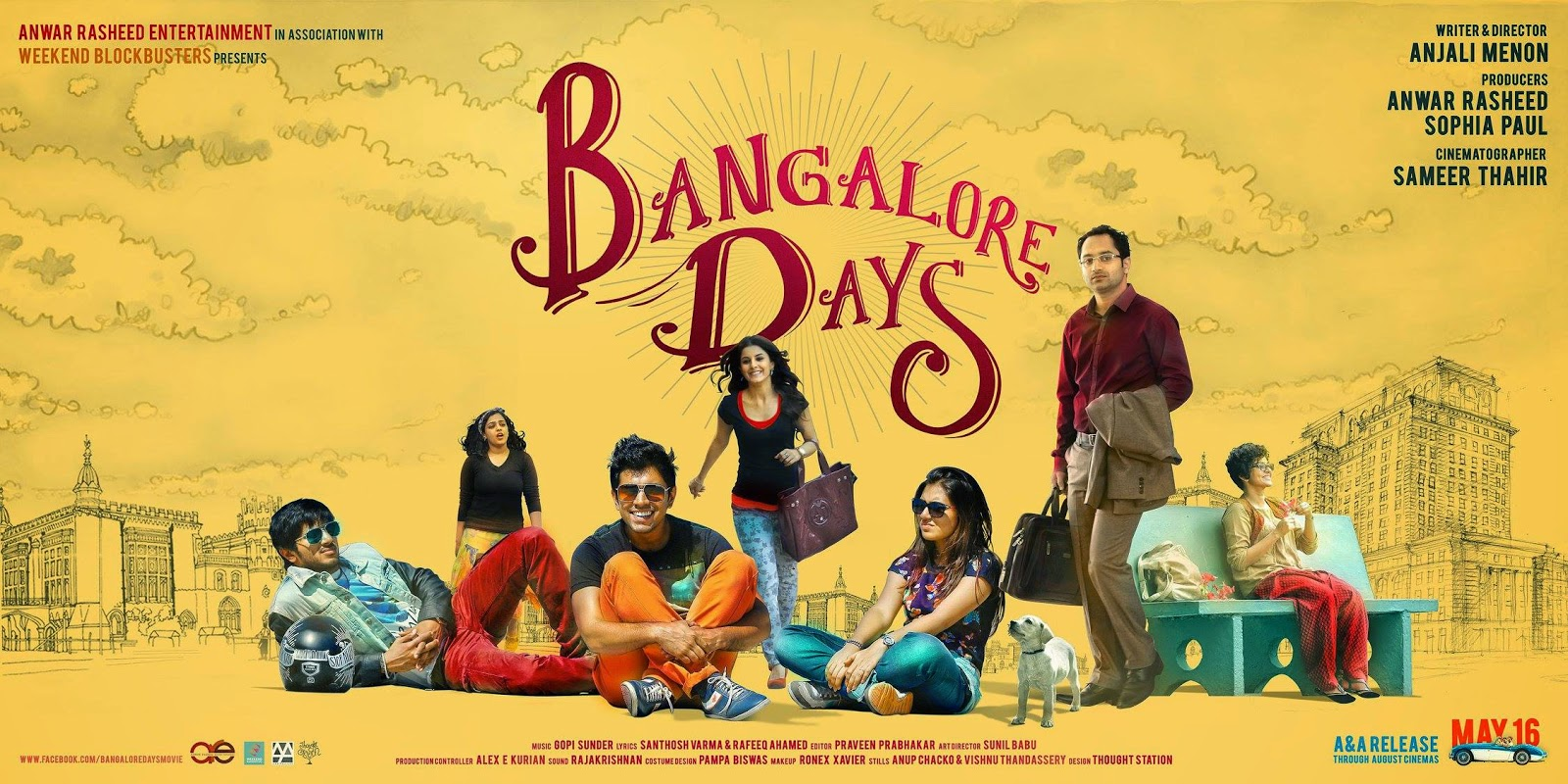 Breaking Movies Bangalore Days Malayalam Movie Review
