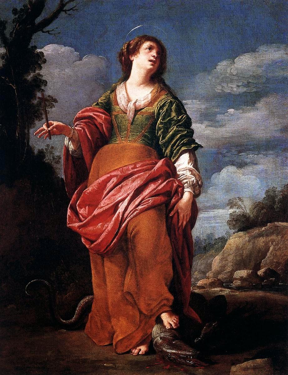 Sainte Margaret (1614/20), Lucrina Fetti