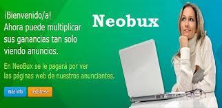 Neobux PTC - gana dinero extra garantizado si paga- Revisión