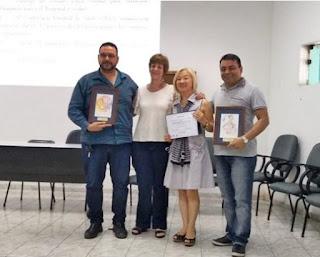Departamento municipal de saúde de Miracatu recebe o prêmio Luiza Matida