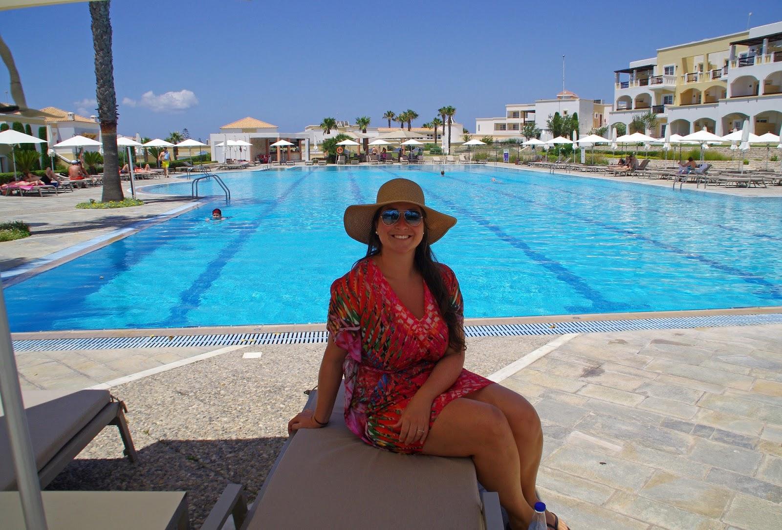 Neptune Hotel Kos Girl by pool