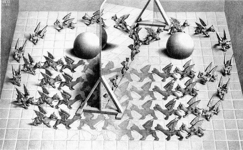 Espelho Mágico - Escher, M. C. e suas geniais litogravuras