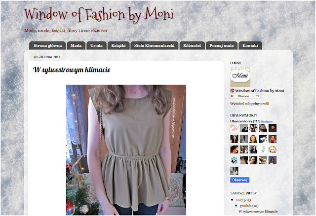 podsumowanie grudnia na blogu
