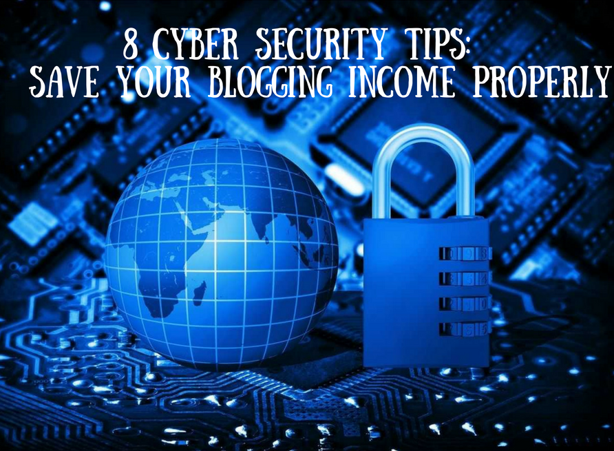 Save Your Blogging Income Properly