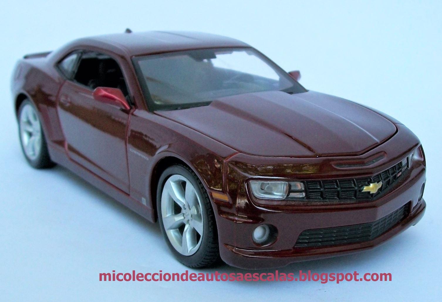 2010 Chevrolet Camaro Ss Rs 1 24 Maisto