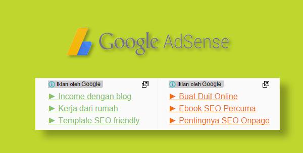 Google Adsense Responsive Link Units