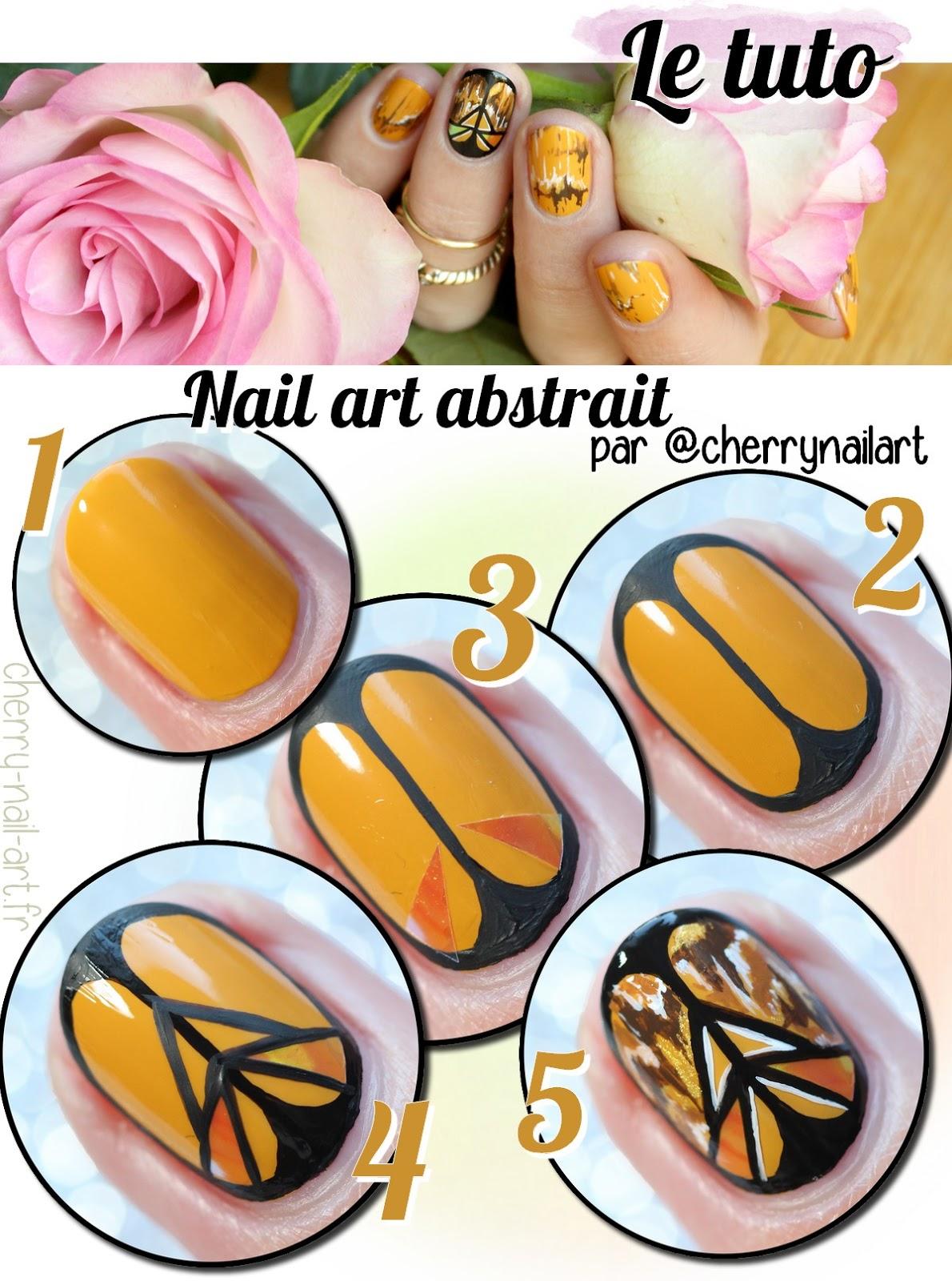 tuto-nail-art-ethnique-glass-nail-automne