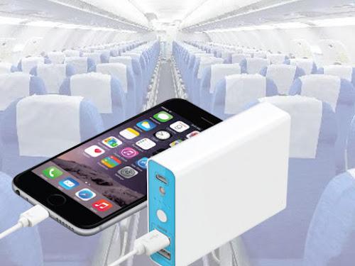 Aturan penggunaan Powerbank di pesawat