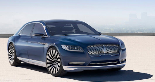 Luxury with Lincoln : My Experience With The New Continental