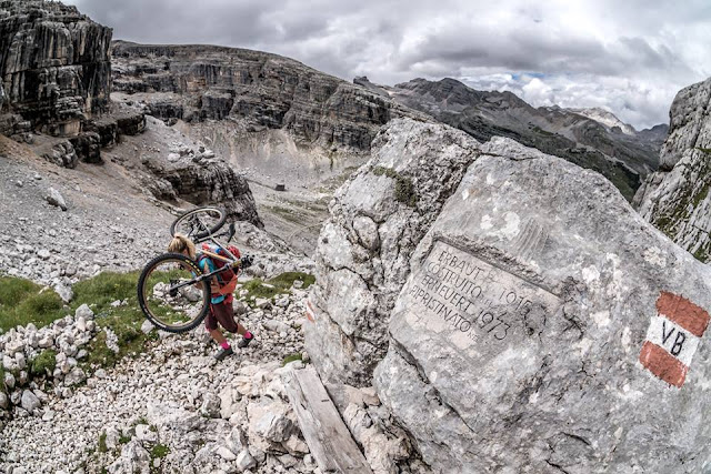 MTB Mountainbike Tour Vallon Bianco San Vigilio