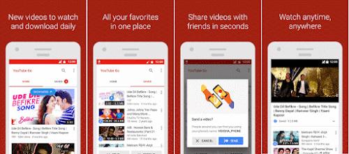 تطبيق YouTube Go لمشاهدة اليوتيوب بدون انترنت