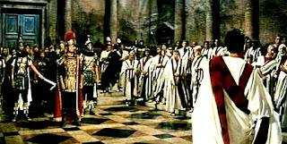 Cómodo en el Senado romano