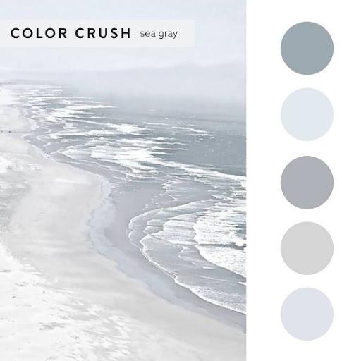 Sea Gray Color Scheme Ideas for Interior Decorating