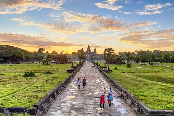 le petit circuit d'Angkor
