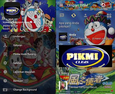BBM Mod Doraemon Terbaik, terlucu terimut
