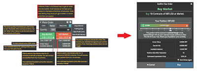 BitMEX Trading Dashboard Order Types: Market Order