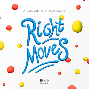 A Boogie Wit da Hoodie - Right Moves - Single  Cover