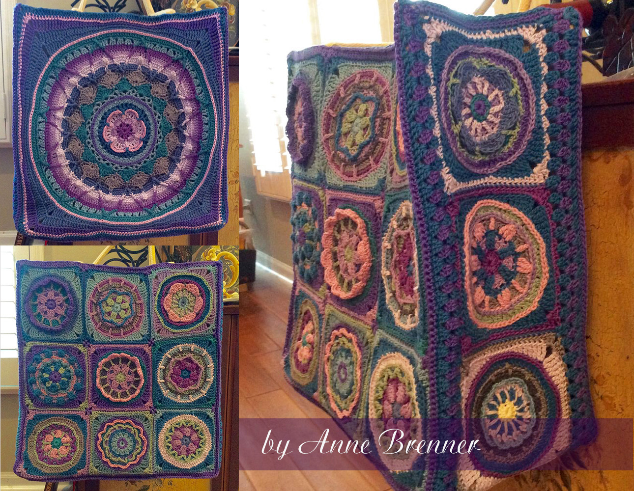 Circles of the Sun bag by Anne Brenner