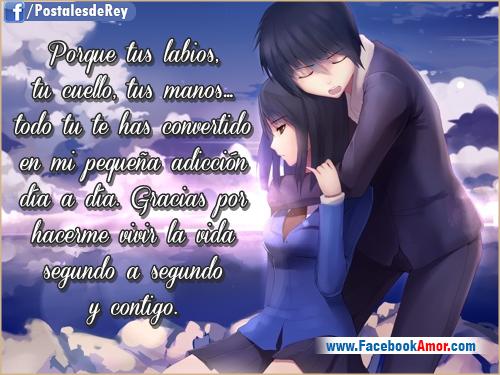 12 Imágenes Románticas Con Frases De Amor Eterno Para Dedicar: Imagenes Romanticas De Anime Imagenes Romanticas Para