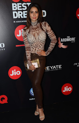 Kim Sharma GQ Best Dressed Awards 2017