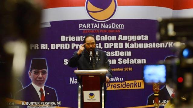 Ini Jawaban Tegas Bos Metro TV Suryo Paloh Usai Prabowo Sandi Nyatakan Boikot TV Nya