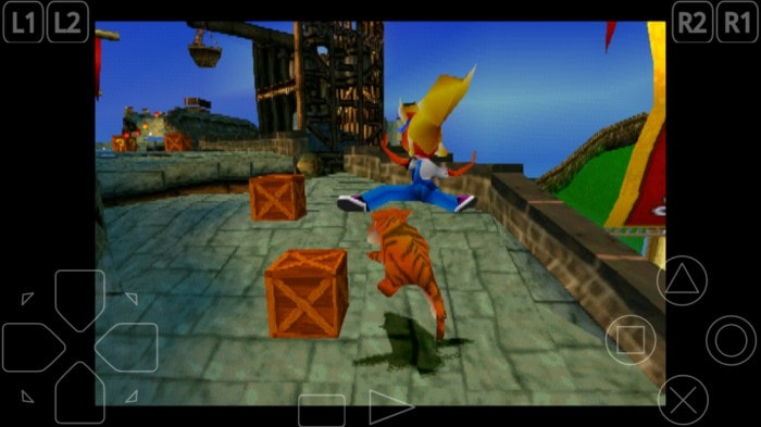 Crash Playstation 1 Android