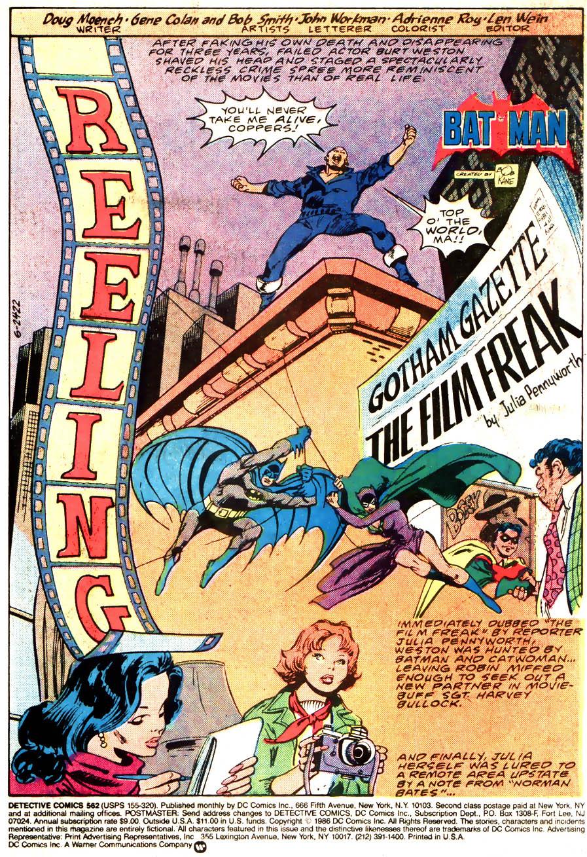 Detective Comics (1937) 562 Page 2