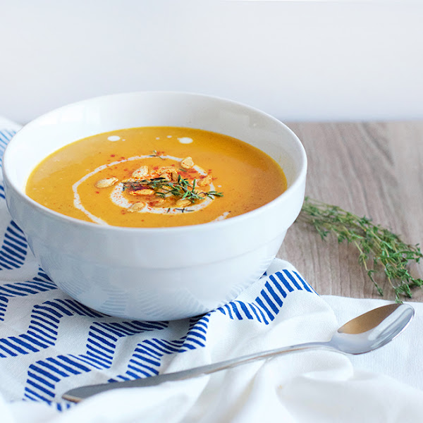 Curry Coconut Butternut Squash Soup