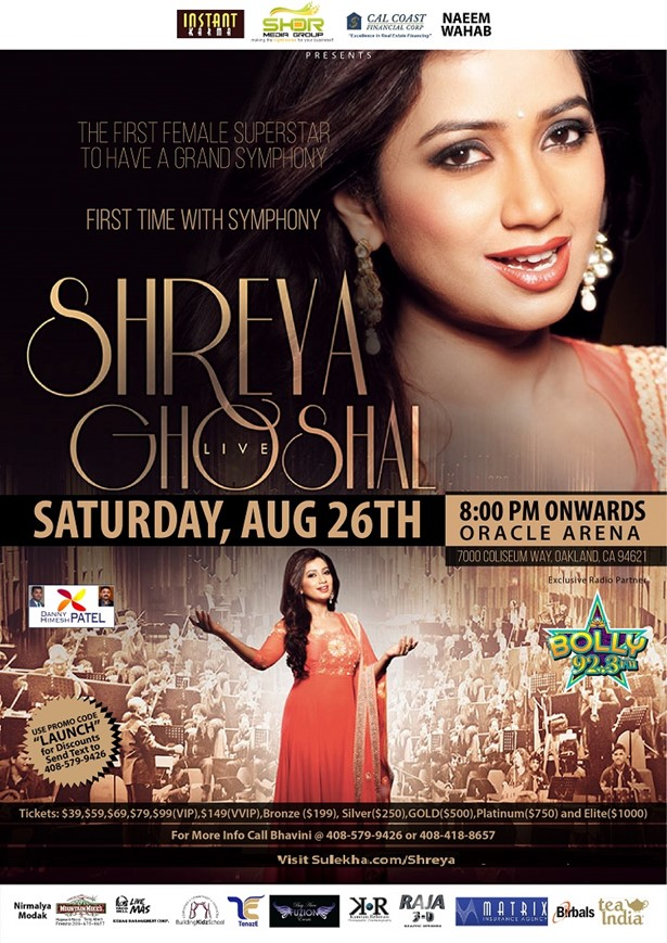Shreya Ghoshal Live in Concert USA