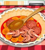 Baking Pizza Pie