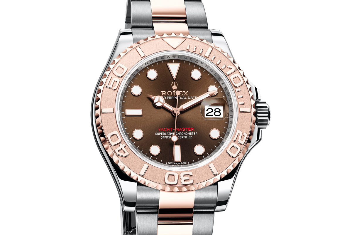 Rolex - Yacht-Master 40 in steel and Everose gold | Time ...