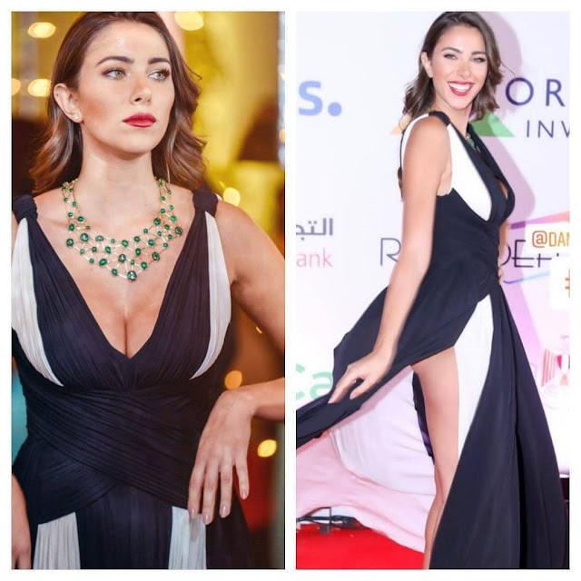 النجمة اللبنانية دانيلا رحمة ملكة جمال لبنان للمغتربين 2010 تتألق في حفل افتتاح مهرجان الجونة السينمائي الدولي 2018 باطلالتها الساحرة.