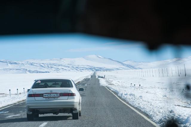 To Tashanta; Altai Republic