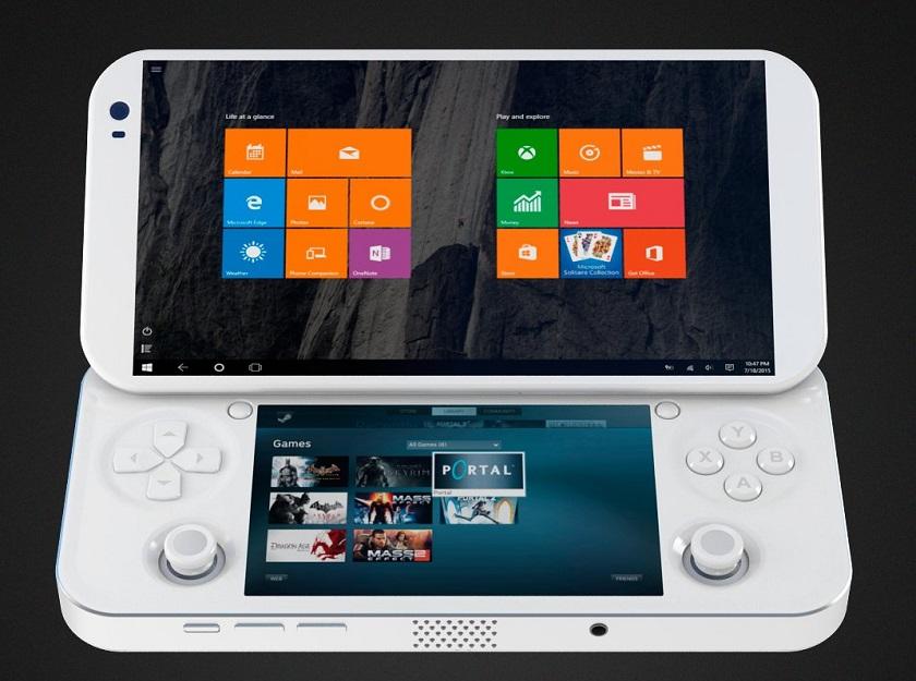 Windows 10 e giochi da PC in tasca con la console PGS   Video