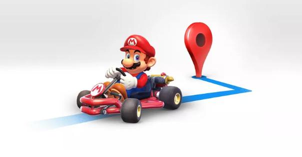 Mario Day: Mario Kart arriva su Google Maps