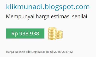 Harga Estimasi Blog